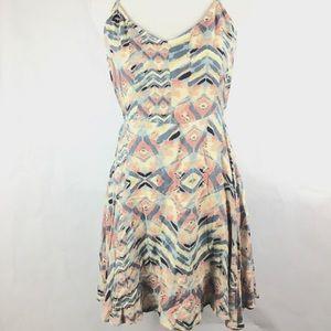 O'Neill Dresses - O'Neill Dress Sz M Open Back Print Beach Summer